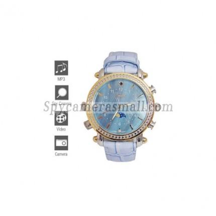 Spy Watch Cameras recoder - Fashion Design Spy Watch with MP3 Player (4GB)