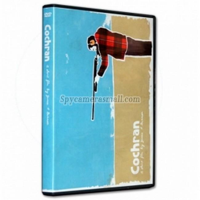 Spy Book Hidden Camera DVR - Plastic DVD Case Spy Camera DVR