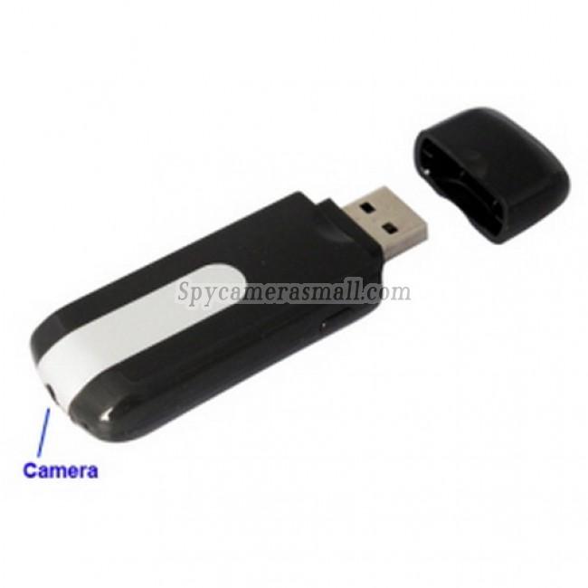 spy equipment - 1280 x 960 HD Mini Pinhole USB Flash Disk Style Digital Video Recorder Motion-Activated Hidden Camera