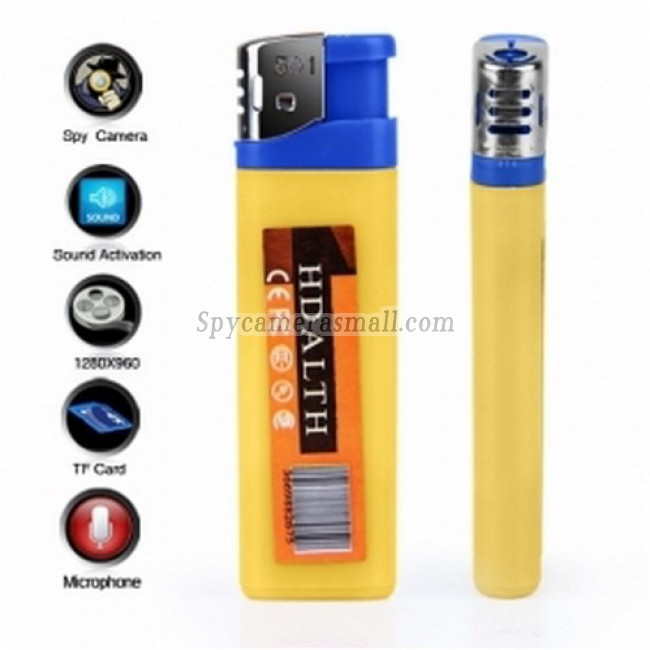 spy gear and spy cam - DVR Spy Lighter with Sound Activation (30FPS)