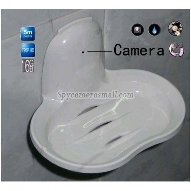 Soap Box Hidden Bathroom Spy Cams DVR - New Spy Soap Box Hidden Bathroom Spy Camera DVR 16GB 1280x720P 5.0 Mega Pixel
