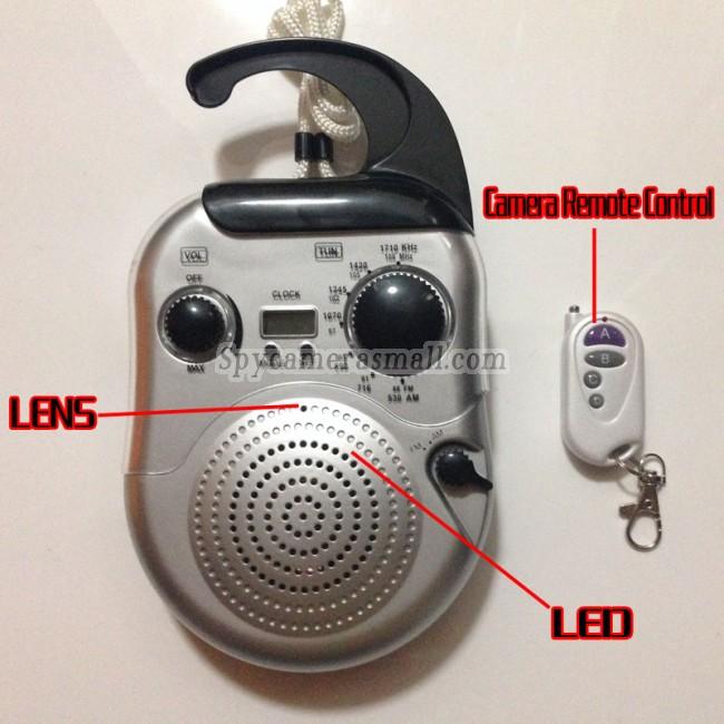 radio geheime camera 720P DVR Full HD 16G Bewegingsdetectie beste verborgen camera