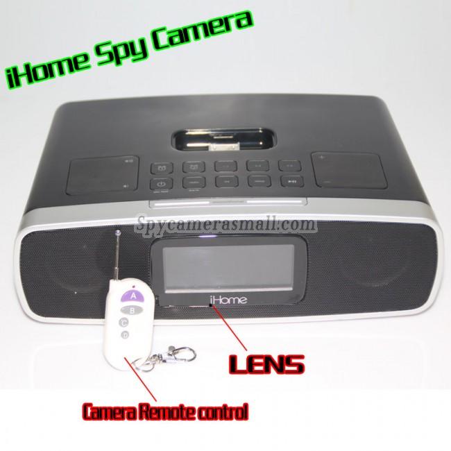 iHome Alarm Clock Radio Spy Camera 1080P HD Spy DVR Pinhole Spy Camera 32GB Internal Memory,best Charger Hidden HD Spy Camera DVR, Bathroom Spy Camera