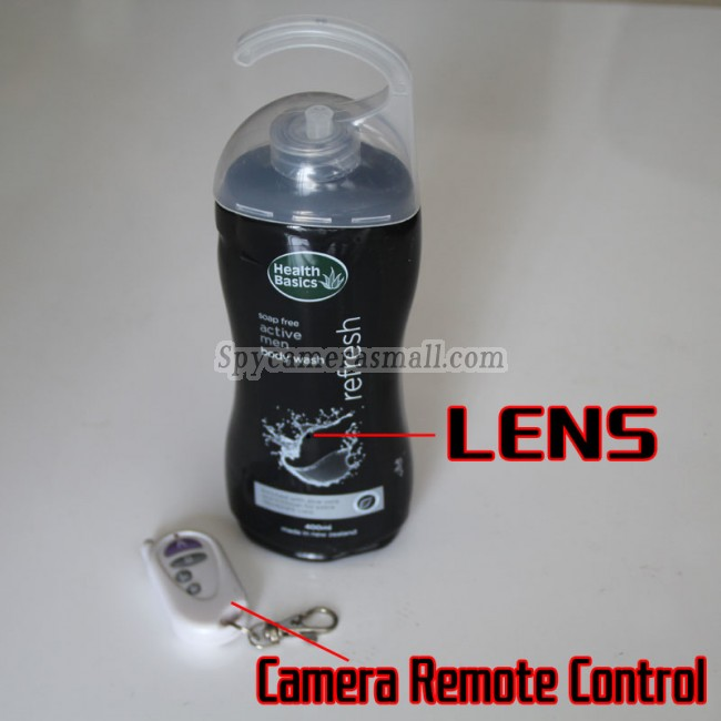 Wilt u  Shampoo Spionagecamera 720P DVR Full HD 16G Bewegingsdetectie online kopen? Als een van de toonaangevende verborgen camerafabriekanten in China kunnen wij u hoogwaardige producten leveren.